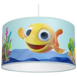 Milagro Abażurowa lampa wisząca minimini mlp6800 dziecięcia oprawa okrągły zwis rybka multikolor