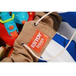 Estoy Boox worek na zabawki - niebieskie pasy - produkt z kategorii- Pojemniki na zabawki