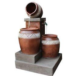 Reflux Kaskada fontanna ogrodowa ortos + pompa