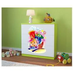 Komoda dziecięca  babydreams ciuchcia kolory negocjuj cenę od producenta Kocot-meble