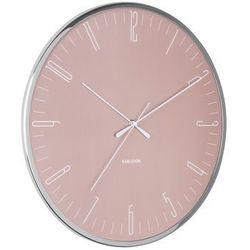 Zegar ścienny Karlsson Dragonfly różowy