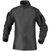Bluza helikon combat shirt z nałokietnikami czarna (ko-cs2-po-01) marki Helikon-tex / polska