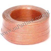 Mpartner Przewód głośnikowy kabel cca 2x0,75 mm
