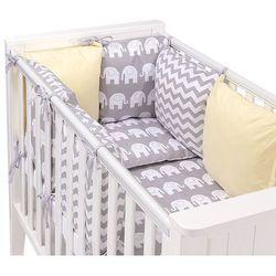 14-el pościel do łóżeczka z ochraniaczem modułowym - zestaw 11 marki Mamo-tato