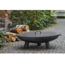 Korono Palenisko ogrodowe ze stali czarnej bez pokrywy średnica 60 cm (5900105400185)