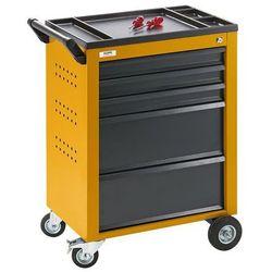 Quipo Wózek narzędziowy, 5 szuflad z pojedynczą blokadą, wys. x szer. x głęb. 930x630x