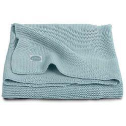 Koc Basic knit Jollein - Stone green 75x100cm 516-511-65103