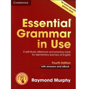 Essential Grammar in Use czerwona, oprawa broszurowa