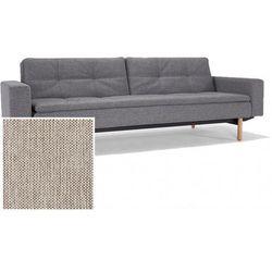 INNOVATION iStyle Sofa Dublexo z podłokietnikami beżowa 527 nogi jasne drewno Stem - 741050020527-741007020-11-1-2 - produkt z kategorii- Sofy