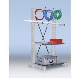 Regałowy stojak wspornikowy, konstrukcja średnio ciężka, jednostronny, wys. stoj