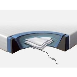 Beliani Komplet akcesoriów do łóżka wodnego 160x200 cm