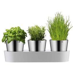 Zestaw 3 doniczek na zioła, gourmet by marki Wmf