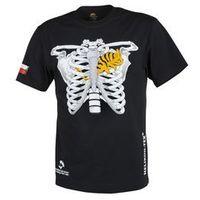 t-shirt Helikon kameleon w klatce piersiowej z flagą PL czarny (TS-CTF-CO-01), TS-CTF-CO-01