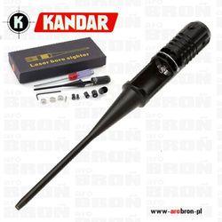 Laser do kalibracji lunet celowniczych A77 KANDAR (Laser bore sighter) - kaliber 5,5mm do 12,7mm, prosty w uż