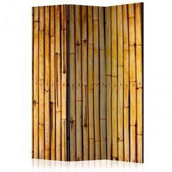 Artgeist Parawan 3-częściowy - bambusowy ogród [room dividers]