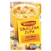 Winiary  16g smaczna zupa serowa z grzankami