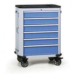 Wózek warsztatowy EXPERT, 6 szuflad