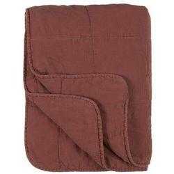 Ib Laursen - Narzuta na łóżko rdzawo-bordowym