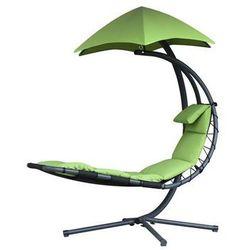 Fotel hamakowy, Zielony DREAM - produkt z kategorii- Krzesła ogrodowe