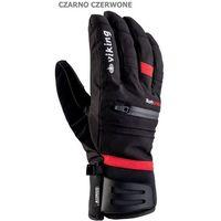 Viking Męskie rękawice narciarskie  kuruk czarno-czerwony 10