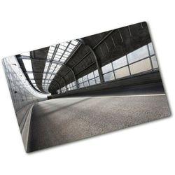 Deska kuchenna szklana Droga w tunelu architektura