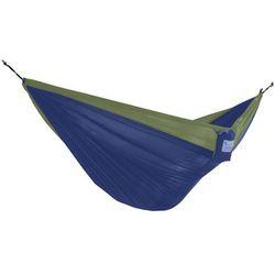 Hamak turystyczny dwuosobowy Parachute, zielono-niebieski PAR2
