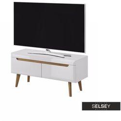 Selsey szafka rtv livinella 107 cm biała (5902622522302)