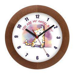 Zegar drewniany solid pieszczoch marki Atrix