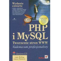 PHP i MySQL Tworzenie stron WWW, rok wydania (2009)