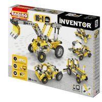 Klocki 16 pojazdów budowlanych Inventor, ENGINO