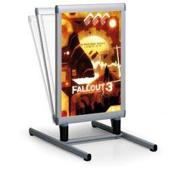 Stojak plakatowy zewnętrzny marki Jansen display