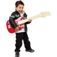 Czerwona gitara dla dzieci marki Small foot design