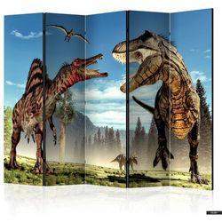 SELSEY Parawan 5-częściowy - Walka dinozaurów (5903025214580)