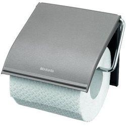 - uchwyt na papier toaletowy - platynowy wyprodukowany przez Brabantia