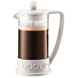 Zaparzacz do kawy Brazil, 3 fliliżanki, 0.35 l, biały - biały