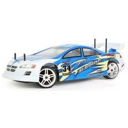 Model samochodu  rapida 1:10 niebieski wyprodukowany przez Himoto