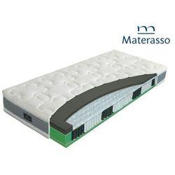Materasso hybrid duospring – materac kieszeniowy, sprężynowy, rozmiar - 140x200 sleeping house - najlepsze