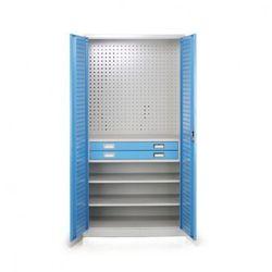 B2b partner Szafa warsztatowa z szufladami, 1850x9ě0x500 mm