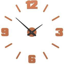 Zegar ścienny michelangelo  terakota marki Calleadesign
