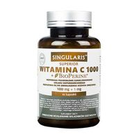 WITAMINA C 1000+ BIOPERINE 60 kaps SINGULARIS Superior