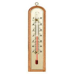 Termometr pokojowy BIOTERM 012400 drewniany złota skala (210/43 mm)