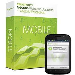 secureanywhere business mobile protection 10-99 licencji, marki Webroot