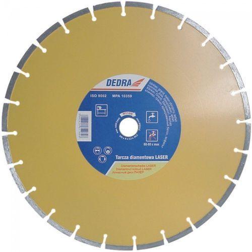 Tarcza do cięcia DEDRA H1160 350 x 25.4 mm Laser diamentowa + DARMOWA DOSTAWA! - sprawdź w ELECTRO.pl
