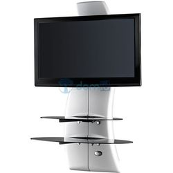 Półka pod TV z maskownicą GHOST DESIGN 2000 biała, produkt marki Meliconi s.p.a.