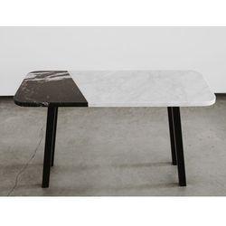 Stolik kawowy marmurowy form-e czarny marquina marki The brooklyn loft