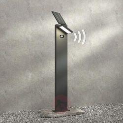 Solarny słupek ogrodowy LED Silvan, czujnik,100 cm (4251096556780)