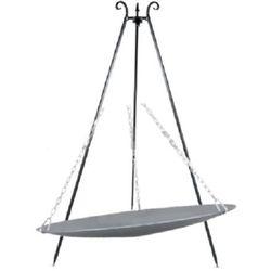 Viking Patelnia ogrodowa  na trójnogu 46 cm + palenisko 60 cm + darmowy transport! (5902280590323)