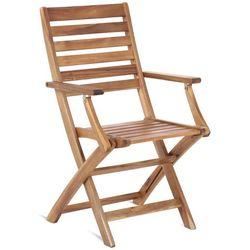 Home&garden Krzesło ogrodowe drewniane składane akacja cross