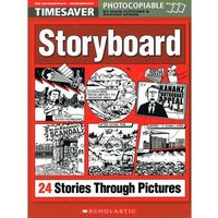 Timesaver: Storyboard - 24 Stories Through Pictures BK+CD Pack