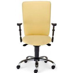 Krzesło obrotowe bolero ii r1b steel02 chrome - biurowe, fotel biurowy, obrotowy marki Nowy styl